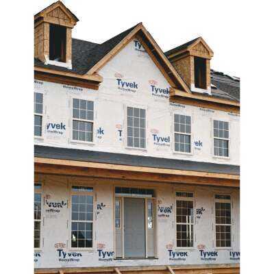 Dupont Tyvek HomeWrap 10 Ft. x 100 Ft. House Wrap