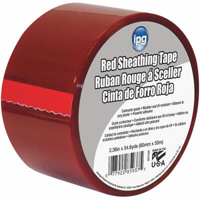 IPG 2-1/2 In. x 55 Yds. Red Sheathing Tape