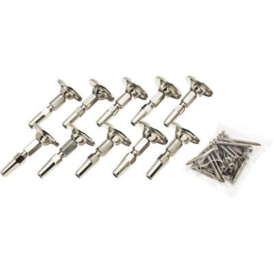 Atlantis Rail System RailEasy 5/32 In. Cable Diameter Cable Swivel End (10-Pack)