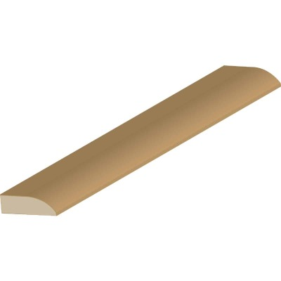 Cedar Creek WM857 3/8 In. W. x 1-1/4 In. H. x 7 Ft. L. Solid Pine Modern Door Stop Molding