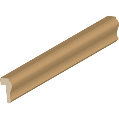 Cedar Creek WM292 9/16 In. W. 1-1/8 In. H. x 8 Ft. L. Solid Pine Ply Cap Molding