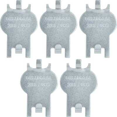 Hillman High and Mighty 20 Lb. Capacity Picture Hanger (5 Piece)