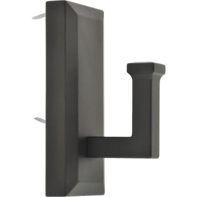 Hillman High and Mighty 15 Lb. Capacity Oil Rubbed Bronze Rectangular Decorative Hook