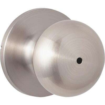 Steel Pro Brushed Nickel Bed & Bath Door Knob