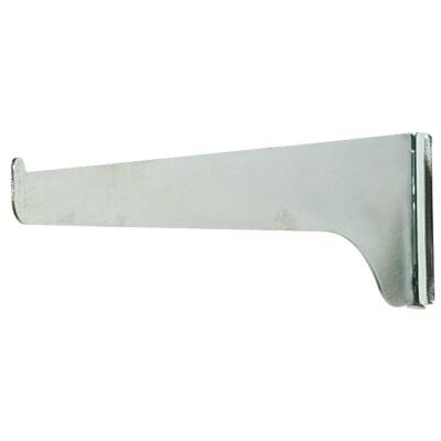 Knape & Vogt 180 Series 10 In. Anochrome Steel Regular-Duty Single-Slot Shelf Bracket