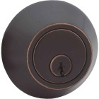 Steel Pro Oil Rubbed Bronze Kwikset Double Cylinder Deadbolt Image 1