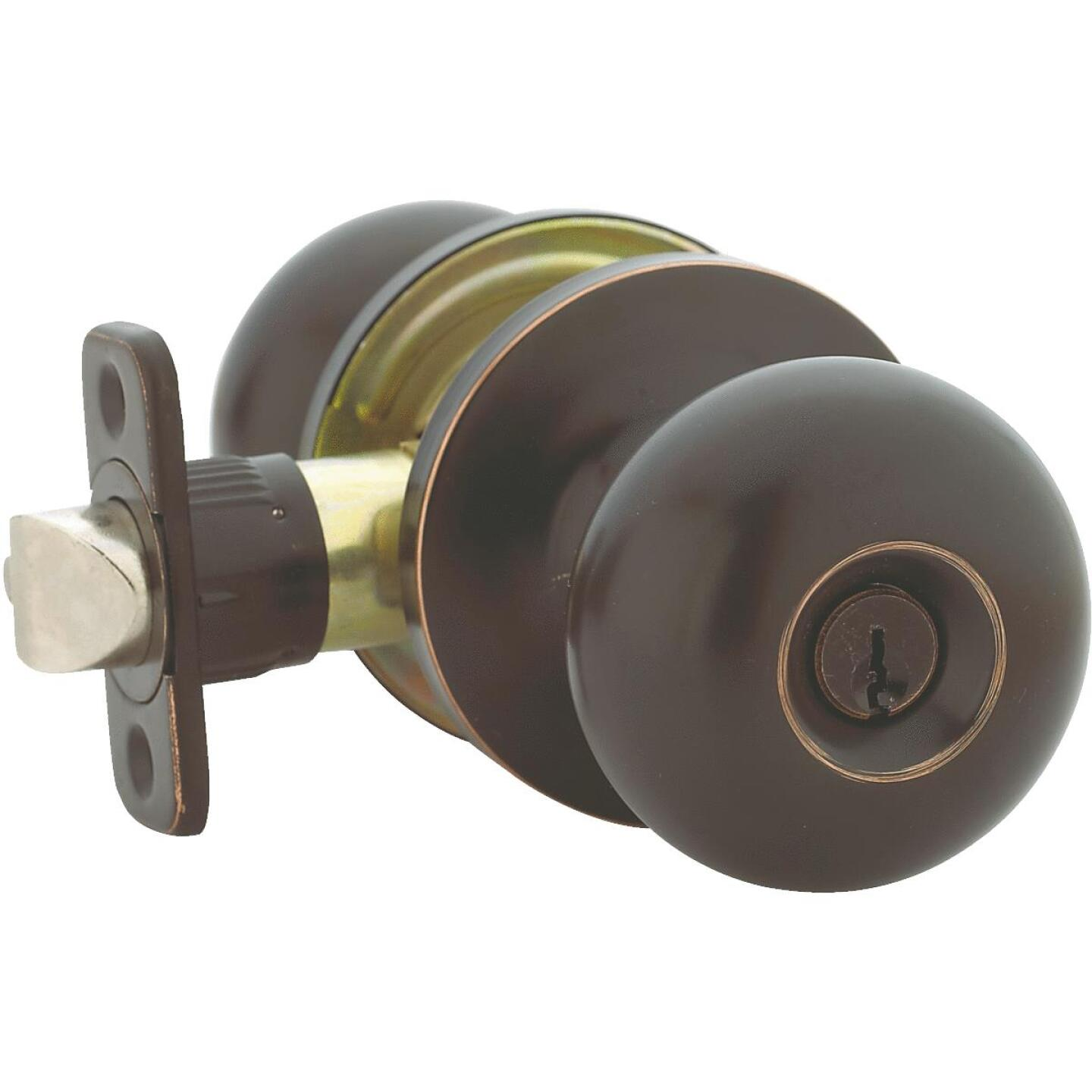 Steel Pro Oil Rubbed Bronze Entry Door Knob  Image 2