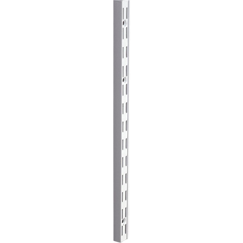 Knape & Vogt 82 Series 16-1/2 In. Titanium Steel Heavy-Duty Double-Slot Shelf Standard Image 1