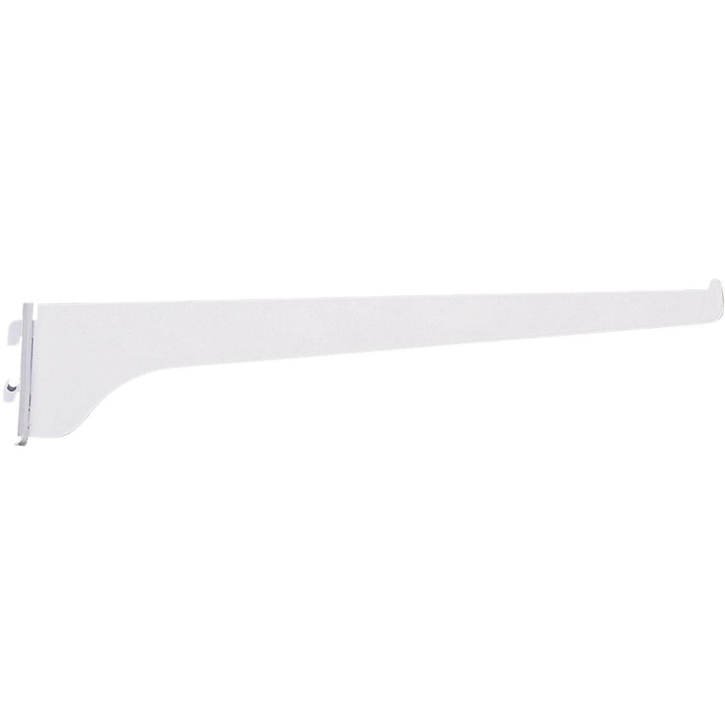 Knape & Vogt 180 Series 10 In. Titanium Steel Regular-Duty Single-Slot Shelf Bracket Image 1