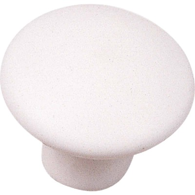 Laurey White Matte 1-3/8 In. Cabinet Knob