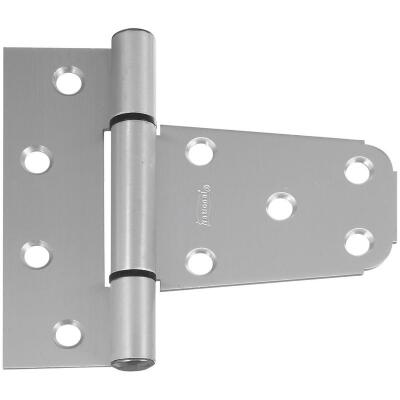 National 3-1/2 In. Aluminum Vinyl Fence Gate Hinge