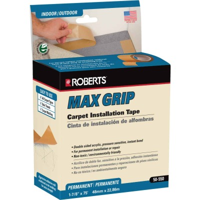Max Grip 1.88 In. x 75 Ft. Indoor Carpet Tape