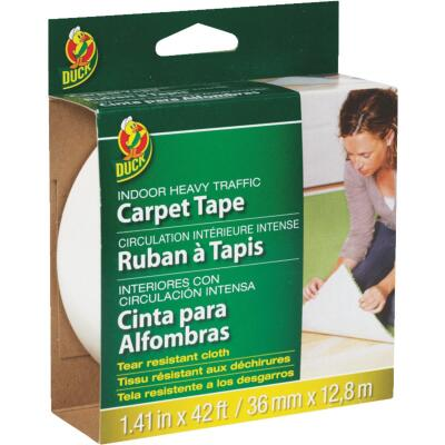 Duck Heavy Traffic 1.5 In. x 42 Ft. Indoor Carpet Tape