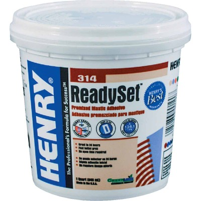 Henry ReadySet 1 Qt. Multi-Purpose Ceramic Tile Adhesive