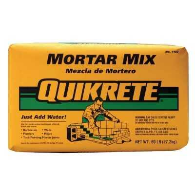 Quikrete 60 Lb. Natural Type N Mortar Mix