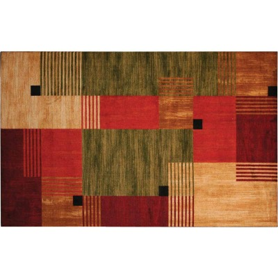 Mohawk Home Alliance Multi-Color 1 Ft. 8 In. x 2 Ft. 10 In. Accent Rug
