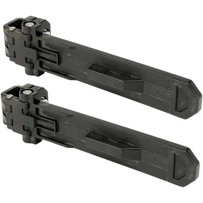 Dewalt ToughSystem 6 In. W x 12 In. L Carrier Bracket (2-Pack), 176 Lb. Capacity