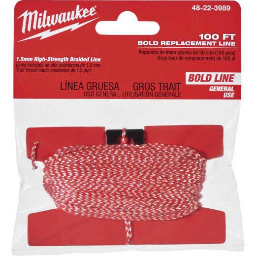Milwaukee 100 Ft. Braided Nylon Bold Chalk Line