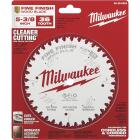 Milwaukee 5-3/8 In. 36-Tooth Fine Finish Circular Saw Blade Image 2