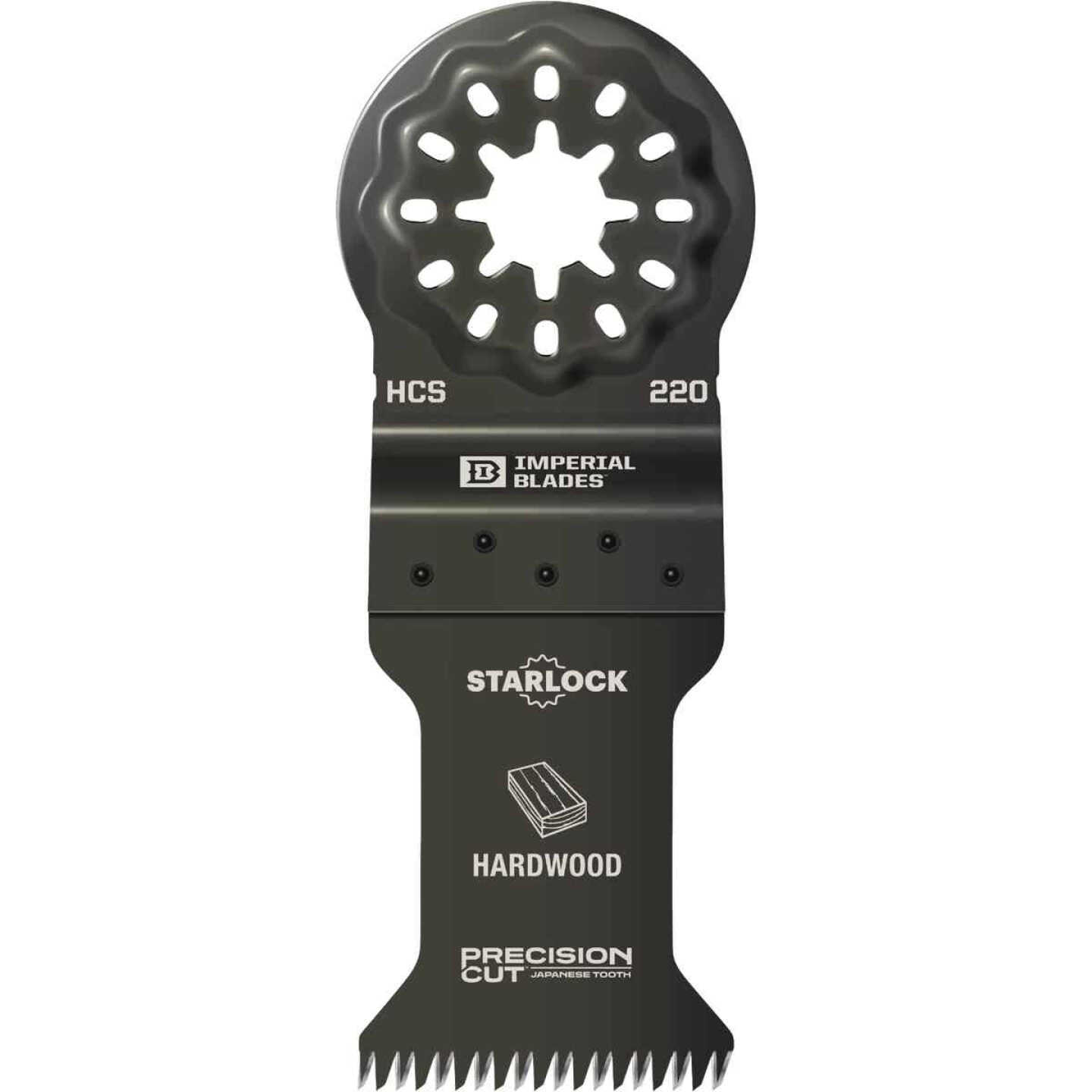 Imperial Blades Starlock 1-3/8 In. 14 TPI Precision Wood Oscillating Blade Image 1