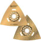 Imperial Blades Starlock 3-1/8 In. Triangle Carbide Grit Oscillating Blade Image 1