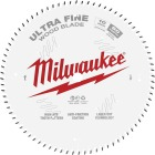 Milwaukee 10 In. 80-Tooth Ultra Fine Finish Circular Saw Blade Image 1