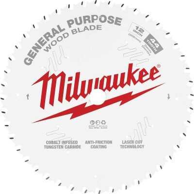 Milwaukee 12 In. 44-Tooth General Purpose Wood Circular Saw Blade
