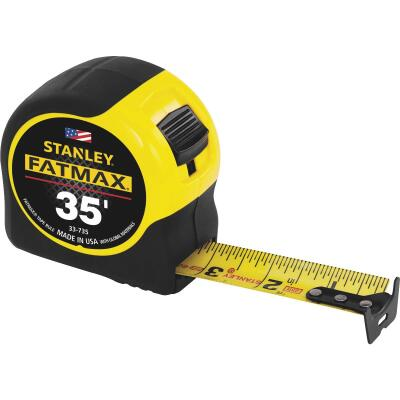 Stanley FatMax 35 Ft. Classic Tape Measure with 11 Ft. Standout