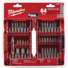 Milwaukee 64-Piece Standard Screwdriver Bit Set Image 1