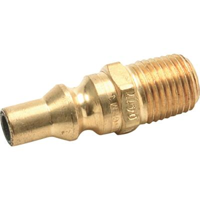 MR. HEATER Male Plug Quick Connect x 1/4 In. MPT F276334, Gas Mate II Quick Connect Male Plug