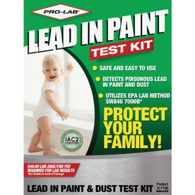 Pro Lab Dust Wipes Lead Test Kit