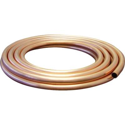 Mueller Streamline 1/4 In. ID x 10 Ft. Soft Coil Copper Tubing
