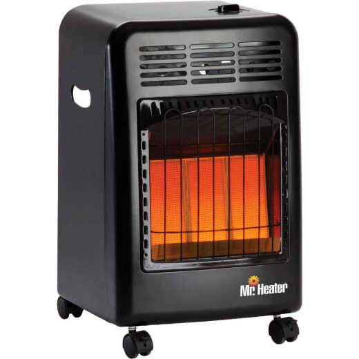 MR. HEATER 18,000 BTU Radiant Cabinet Propane Heater