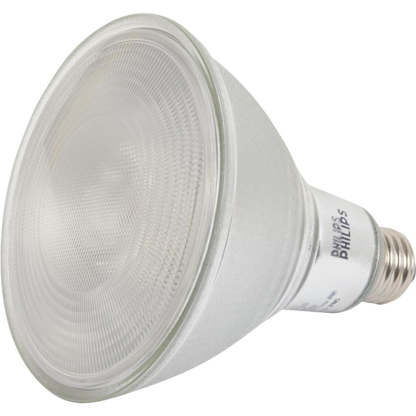 Philips 90W Equivalent Bright White PAR38 Medium Dimmable LED Floodlight Light Bulb Image 1