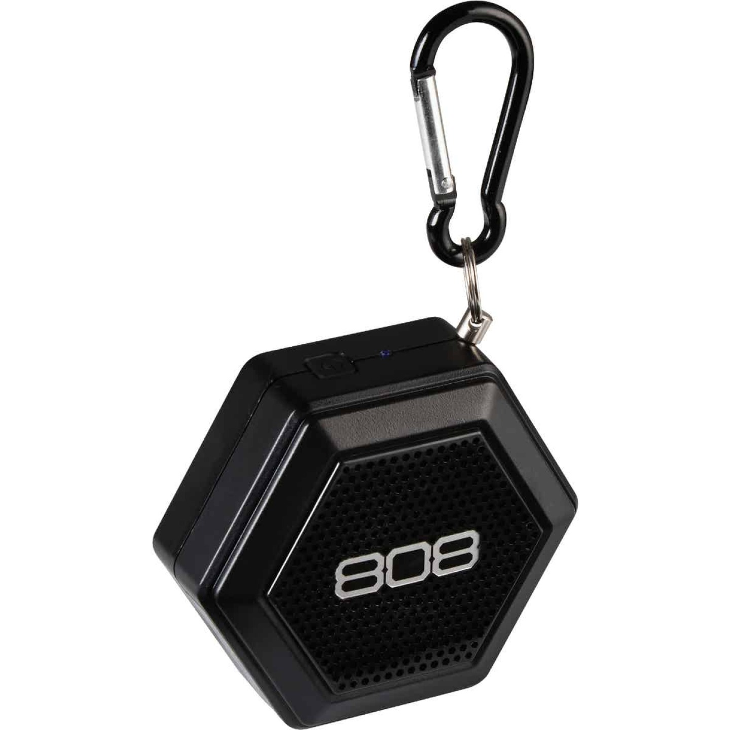 808 Hex Tether Bluetooth Black Wireless Speaker Image 1