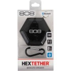 808 Hex Tether Bluetooth Black Wireless Speaker Image 2