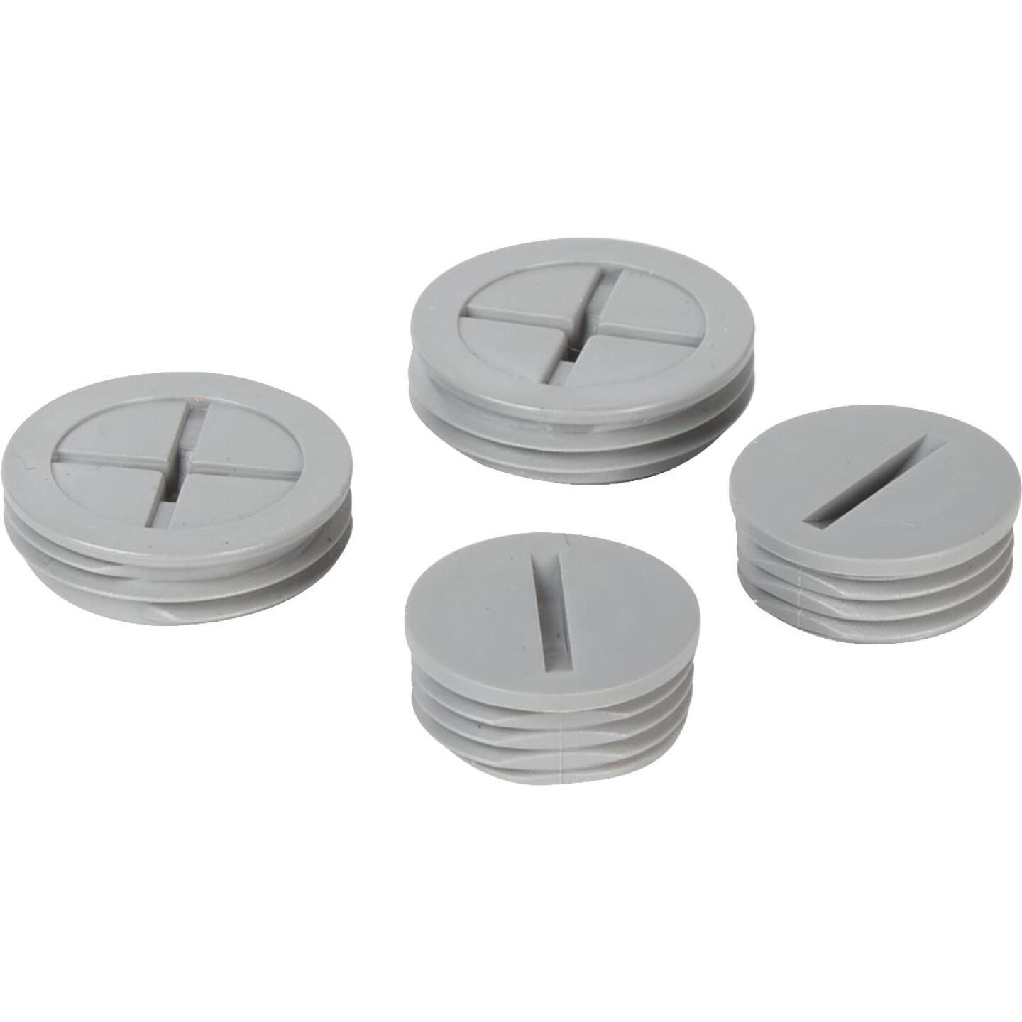 TayMac 1/2 In, 3/4 In. Weatherproof Gray Outdoor Closure Plug (4-Pack) Image 3