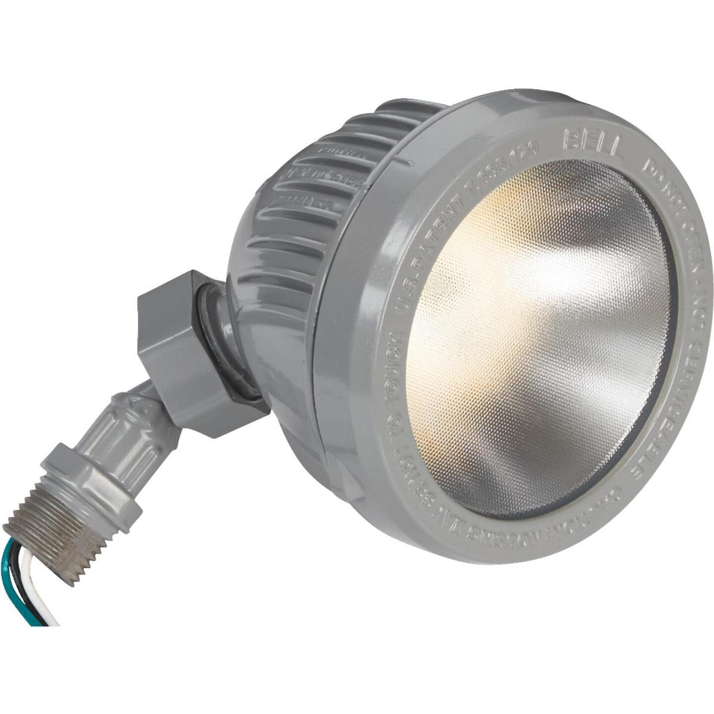Bell Gray 13W Die-Cast Metal Floodlight Outdoor Lampholder Image 3