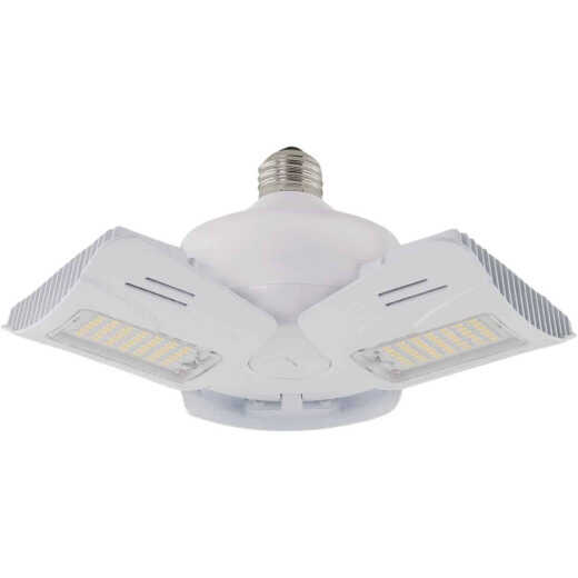 Satco Nuvo 60W Corn Cob Medium Base Multi-Beam LED High-Intensity Replacement Light Bulb