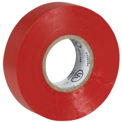 Do it General Purpose 3/4 In. x 60 Ft. Red Electrical Tape