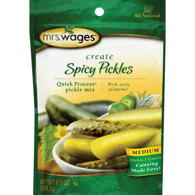 Mrs. Wages Quick Process 6.5 Oz. Medium Spicy Pickling Mix