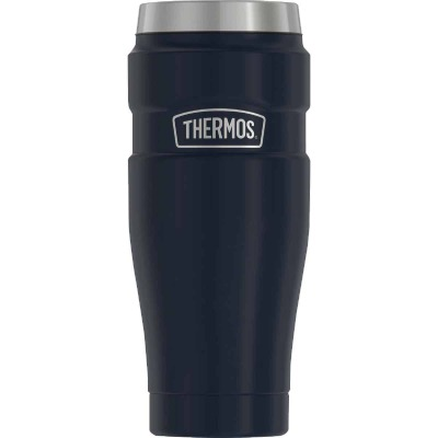 Thermos 16 Oz. Midnight Blue Stainless Steel Insulated Travel Tumbler