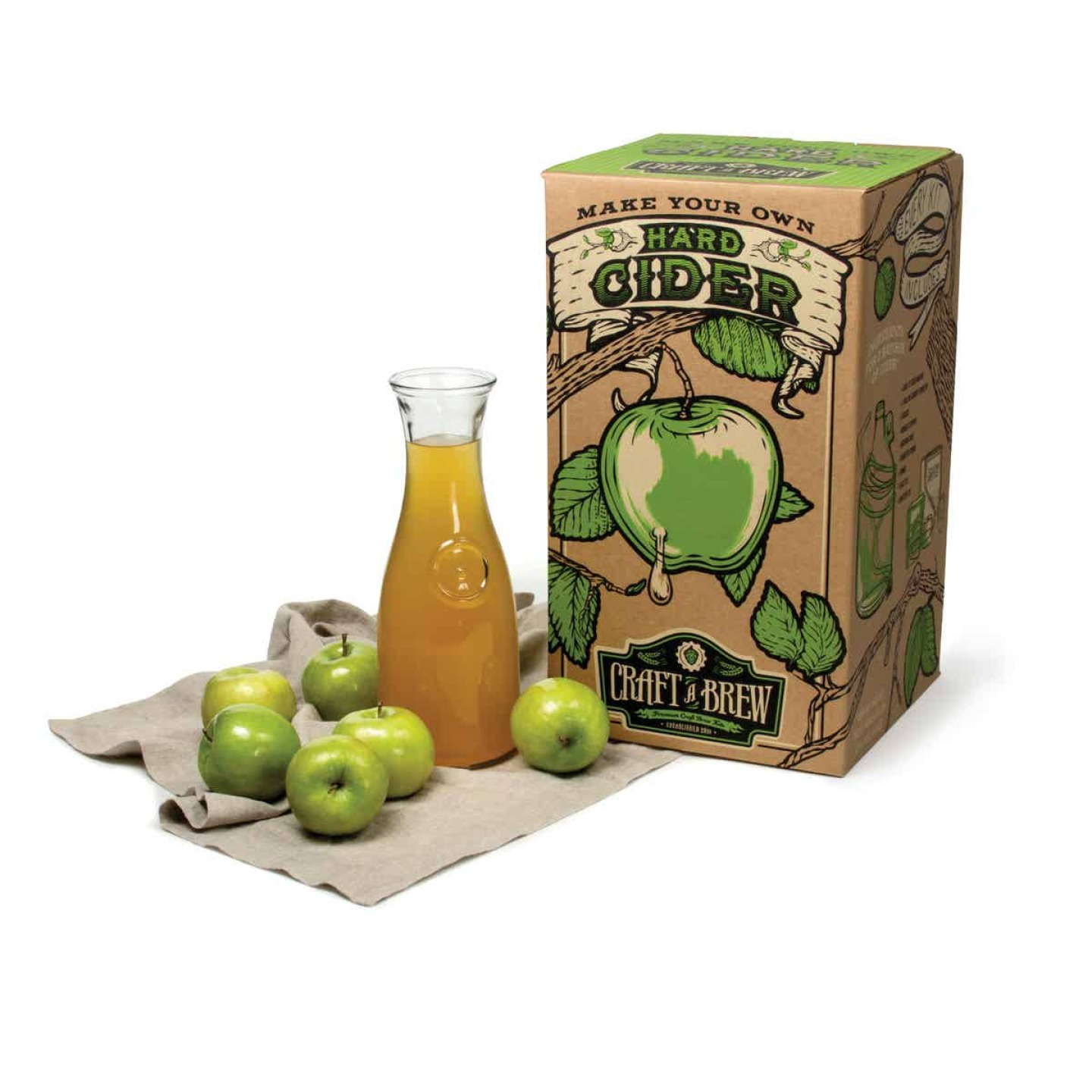 Craft A Brew Hard Cider Brewing Kit (10-Piece) Image 2