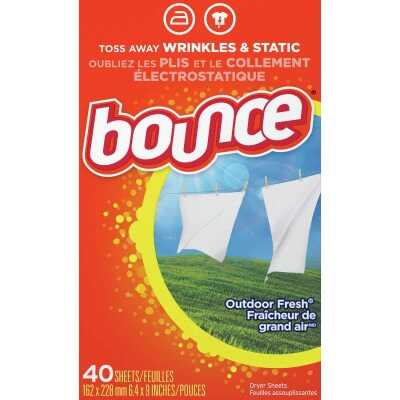 Bounce Fabric Dryer Sheet (40 Count)