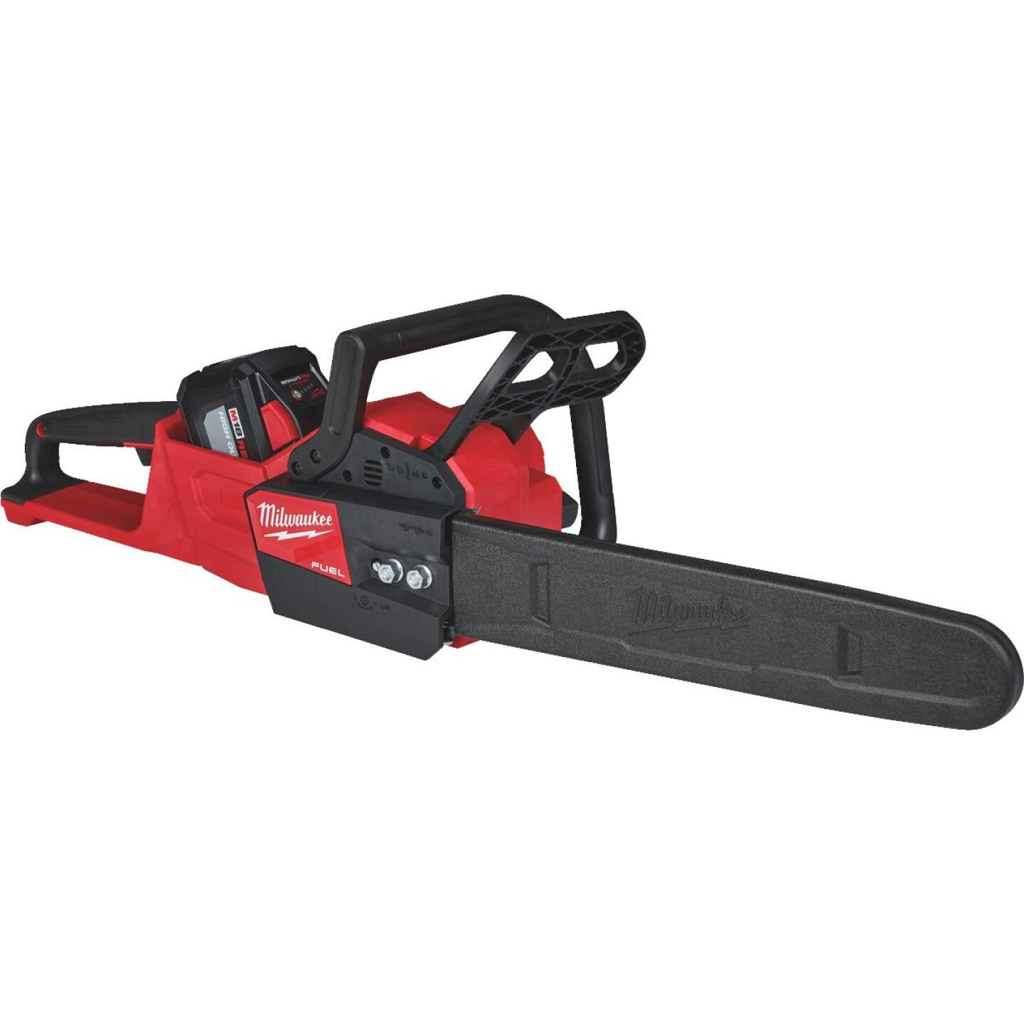 Milwaukee M18 FUEL 16 In. 18V Lithium Ion Cordless Chainsaw Kit Image 2