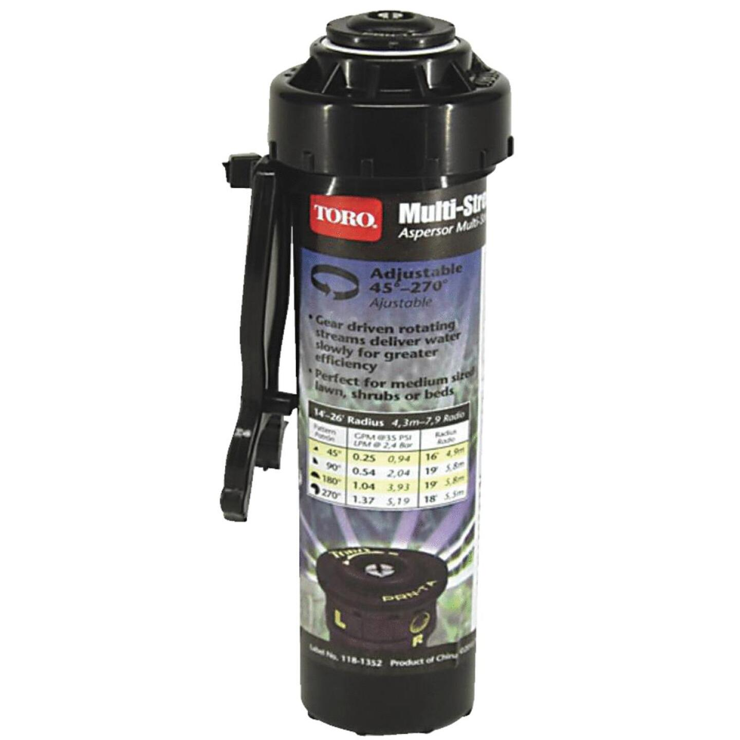 Toro Multi-Stream 4 In. 45 Deg. to 270 Deg. Pop-Up Head Sprinkler Image 1