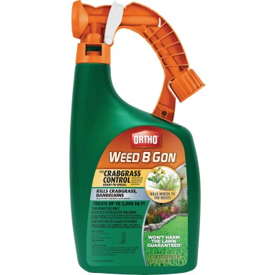 Ortho Weed B Gon 32 Oz. Ready To Spray Crabgrass & Weed Killer