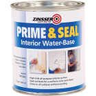 Zinsser Interior Prime & Seal Water-Based Primer, White, 1 Qt. Image 1