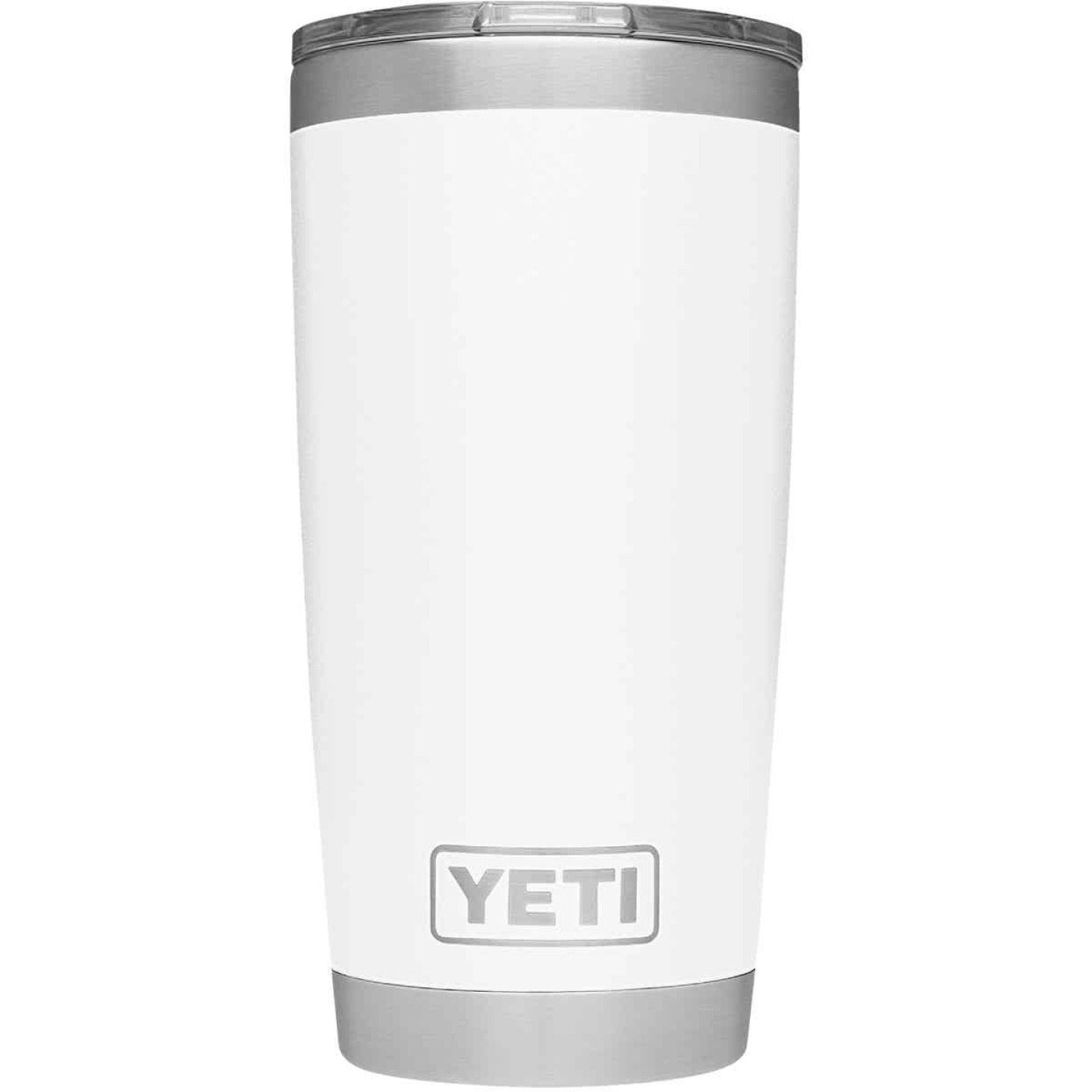 Yeti Rambler 20 Oz. White Stainless Steel Insulated Tumbler with MagSlider Lid Image 2
