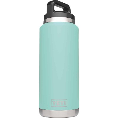 Yeti Rambler 36 Oz. Seafoam Stainless Steel Insulated Vacuum Bottle